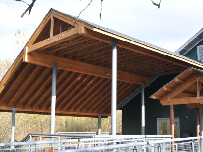 Nisqually NWR Environmental Education Building